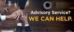 Advisory Service? We can help.
